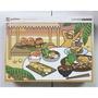 台製授權拼圖1000片 蛋黃哥 悠閒度假系列-美味大餐