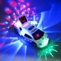 【現貨特惠推薦】電動萬向兒童音樂發光360度旋轉變形玩具車警車全自動物美價廉