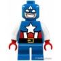 LEGO人偶 SH250 Captain America-Short Legs 樂高超級英雄系列【必買站】 樂高人偶