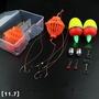 鰱鳙釣組海竿釣專用鉤彈簧鉤線組大頭魚鰱魚釣組套裝成品全套浮釣。61259