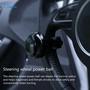 通用黑色汽車方向盤助力球 助力器 輔助助推器 輔助控制手柄 動力手柄球 助推器 手柄旋鈕 手動控制 轉向助手 汽車造型