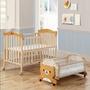 嬰兒床 加大嬰兒床 實木嬰兒床 小床 大床 附蚊帳(大床+小床)