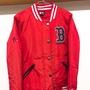 MLB RED SOX 紅襪 大聯盟 棒球 鋪棉 外套 防風