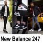【年底清倉甩賣】ew Balance 247 慢跑鞋 白黑 NB247 孔曉振 【】運動鞋 跑步鞋 男鞋女鞋情侶鞋慢跑鞋