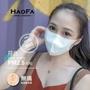 【HAOFA】平價 N95 ※ 3D 氣密型立體口罩 ※ 『粉彩成人款』四層式 50入/包 PM2.5 台灣製
