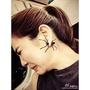 耳環 明星同款搞怪朋克蜘蛛前后式時尚韓國韓版飾品耳飾耳圈耳釘耳環女 城市科技