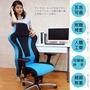 【日光生活館】 Royal皇家收納扶手鋁腳PU輪網座賽車椅電腦椅辦公椅會議椅收納椅(五色)