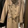 英國代購 BURBERRY DAYLESMOORE 女士雙排扣羊毛風衣大衣附腰帶/外套 多色