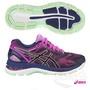 超低優惠 ASICS(女) 慢跑鞋 NIMBUS19 高緩衝 T750N-9092(紫) 亞瑟士