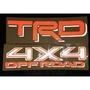 TRD 4X4 OFFROAD 車身反光貼紙(白底)