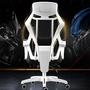 商務黑白調午睡椅可以升降的椅子休閑椅逍遙椅電腦椅網布調節 hot~!熱賣 