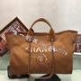 Chanel 媽咪帆布包 購物袋