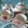 英式下午茶具組八件組