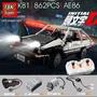 ✖車型積木✖ 兼容樂高MOC頭文字D科技系列AE86跑車拼裝積木男孩玩具K81
