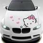 《現貨》hello kitty汽車貼紙  車貼 引擎蓋車頭貼紙❤️