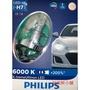 PHILIPS 飛利浦X-treme Ultinon超晶亮LED H7 6000K白光 12985BWX2 增亮200%