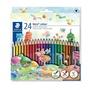 【施德樓】MS187C24 WOPEX -NORIS色鉛筆24色 / 盒