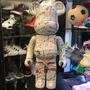 現貨 BEETLE BE@RBRICK JEAN MICHEL BASQUIAT 藝術家 塗鴉 庫柏力克熊 1000%