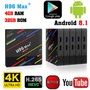 Android 8.1 H96 Max+ Tv Box 4K 4Gb 32Gb/64Gb Usb3.0 Pc Quad Core Media Player