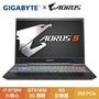 GIGABYTE AORUS 5 GA 窄邊框電競筆電/i7-9750H/GTX1050 3G/8G/256 PCIe/15.6吋IPS FHD/W10/144Hz