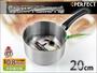 PERFECT台灣製 319283 極緻厚#316不鏽鋼 單柄湯鍋 20cm 雪平鍋附容量刻度標示 通過SGS檢測