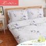 【Luna Vita】 60支 頂級天絲、木漿纖維 舖棉兩用被四件組 -浪漫宣言