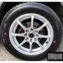 全新鋁圈 DG RS 14吋鋁圈 高亮銀 4孔100 4孔114.3 菱利 A180 實裝圖