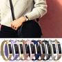 適用於Fitbit Alta錶帶 ACE智能手環 Fitbit Alta米蘭尼斯腕帶 替換錶帶 磁吸腕帶 不銹鋼錶帶