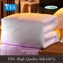 【YES】 純天然100%AA級蠶絲冬被 雙人床標準型(6×7尺 淨重5台斤)