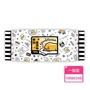 【SANRIO 三麗鷗】蛋黃哥手口有蓋柔濕巾/濕紙巾 100 抽 X 24 包 適用於手、口、臉 使用超安心(箱購)