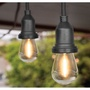 FEIT 48呎 24燈座 室外裝飾燈串 防水 裝飾燈 可串接 出清 COSTCO 代購 好市多