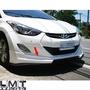 客訂 Limit立密特- Hyundai 現代12-15 ELANTRA 酷炫版 空力套件 前下巴 ABS 烤漆