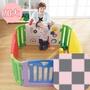 日本 nihon ikuji - 音樂遊戲圍欄-方塊魔法屋加大組(豪華地墊組)-6大片+4小片+地墊