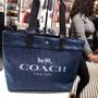 🇺🇸美國正品 COACH 牛仔托特包 購物袋 牛仔 牛仔購物袋 托特包 購物包