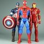 ✙超凡蜘蛛俠發聲說話蜘蛛鋼鐵俠美國隊長公仔玩具可動人偶模型玩具