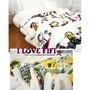 美國進口復古史努比Snoopy正版高質感珊瑚絨雙層加厚大毛毯 被子 空調毯 寶寶毯