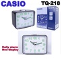Casio Travel Table Top Alarm Clock TQ-218