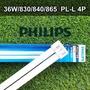 PHILIPS 飛利浦 PL-L 4P 36W  865/ 840/ 830 燈管 緊密型燈管 PL燈管