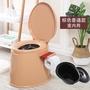 可行動馬桶孕婦坐便器老人加厚痰盂便攜式家用舒適馬桶尿壺尿桶  igo 可然精品鞋櫃