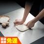 【現貨 熱銷 揉麵墊】✡家用廚房304不銹鋼搟面板灶臺案板和面板菜板烘焙工具揉面墊大號✡