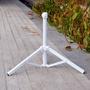 (熱賣)戶外便攜折疊三角傘座釣魚傘座夜市擺攤傘座三腳支架沙灘傘固定架