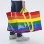 IKEA 彩虹購物袋