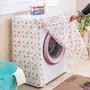 gogoven 半透明 洗衣機防塵罩 烘衣機防塵罩 防水防塵罩 滾筒洗衣機防塵罩 洗衣機防塵套 防塵套 防塵罩