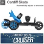 Cardiff Skate Co. Adult Cruiser Skates Large Inline skates for children / teenagers / adults New