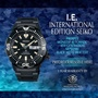 SEIKO INTERNATIONAL EDITION PROSPEX MONSTER AUTOMATIC 4TH GENERATION SRPD29K1 BLACK