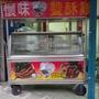 中古冷凍冷攤車 冷凍冷藏餐車  冷藏展示攤車 厚白鐵不鏽鋼訂製款