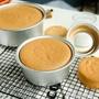 三能蛋糕模具戚風陽極活底烘焙器具6寸8寸10寸烤箱家用模具SN5022
