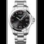 二手 LONGINES 浪琴 征服者系列V.H.P.萬年曆手錶-黑x銀/43mm