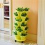 立體多層組合花盆架陽臺種菜盆創意塑料花盆草莓種植盆蔬菜盆神器