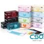 12色(2/4/8盒)!CSD中衛口罩 醫療口罩 有效阻隔細菌 | 黑 藍 綠 紫 灰 粉 紅 黃 橙